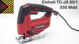 Werkzeug Test - Stichsäge Einhell TC-JS80/1