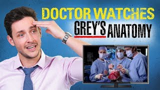 Real Doctor Reacts To GREYS ANATOMY | Medical Drama Review | Doctor Mike