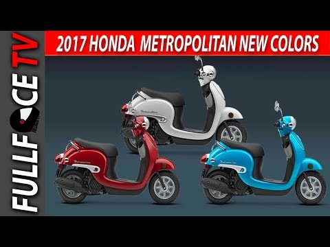 2017 Honda Metropolitan Scooter Review and Price