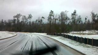 Enjoying the winter weather of GA in my 2000 Jeep