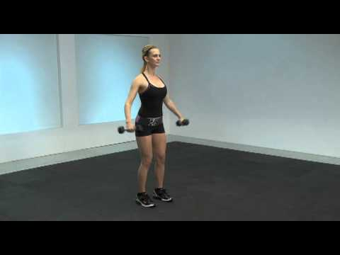 Dumbbell Front Raise to Lateral Raise