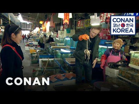 Conan v Koreji #2: Rybí trh a role v telenovele