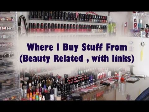 Where I Buy Stuff From - Beauty Related ( Links Listed )