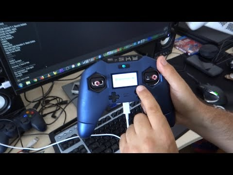 frsky X-lite pro on simulator banggood