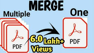 How To Merge Multiple Pdf Files Into One Pdf File ? (Hindi)