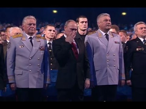Песня до слез растрогала Владимира Путина  9 Мая 2015
