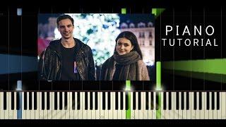 Johny Machette & Teri Blitzen - Vánoční - Piano Tutorial / Cover