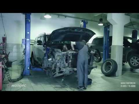 Фото к видео: Nissan Patrol Repair. Сервис Ниссан Патрол. Замена цепей ГРМ.