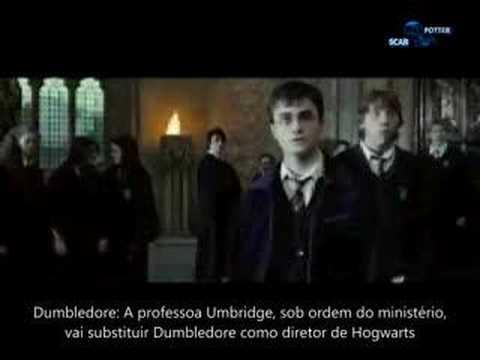 Trailer Harry Potter e a Ordem da Fênix