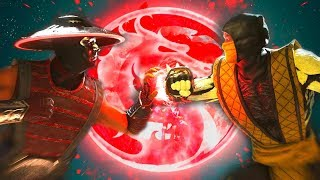 Injustice 2 - Raiden Vs Sub-Zero All Intro Dialogue/All Clash Quotes, Super Moves