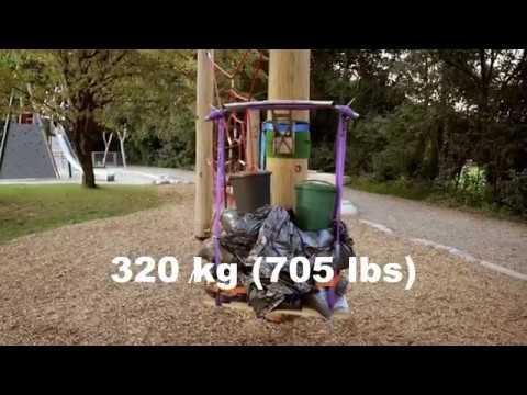 320kg PULL-UP BAR LOAD TEST