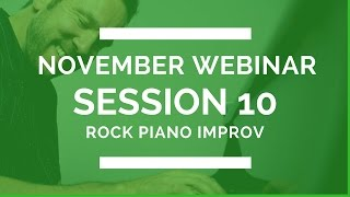 Rock Piano Improvisation Step By Step