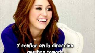 'Love that let's go' -Miley Cyrus (subtitulada al español)