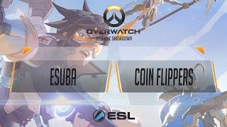 Overwatch - eSuba.Intel White vs Coin Flippers - Atlantic Showdown EU Qualifier #1 - Ro128