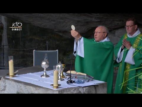 Messe à Lourdes du 15 juin 2020