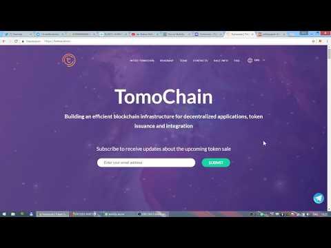 ICO TomoCoin - обзор лучшего на мой взгляд проекта