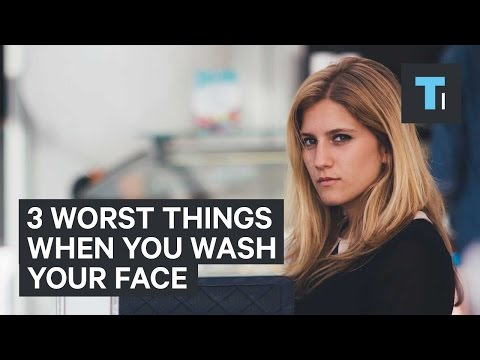 The Three Most Common Mistakes People Make When Washing Their Face