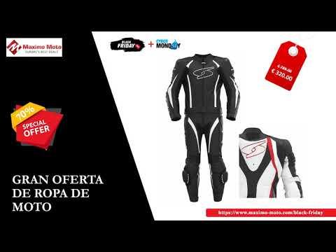 Black Friday al Cyber Monday Venta - Ropa de motos | Maximo Moto