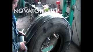 Оборудование для восстановления изношенных грузовых автомобильных шин