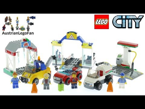Vidéo LEGO City 60232 : Le garage central