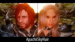 STYLISH HAIR - Skyrim Mods - ApachiiSkyHair