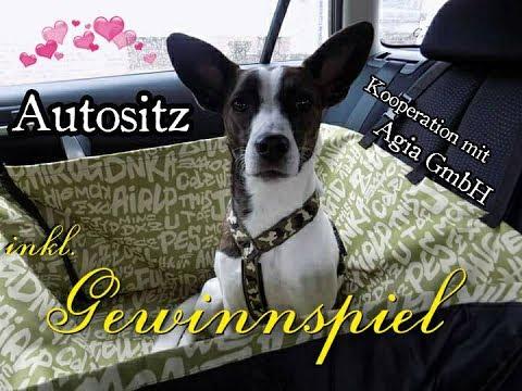 Produkttest Autositz Hund // + Gewinnspiel // Auto-Schutz // Schondecke