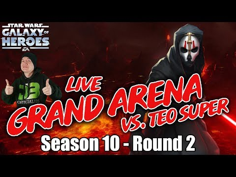 LIVE GRAND ARENA! Season 10 Round 2 vs Teo Super - I Messed Up My