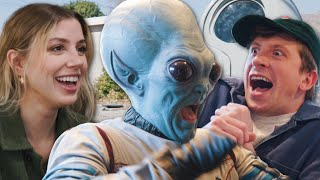 THEY COULDN'T BELIEVE MY ALIEN MAKEOVER!!
