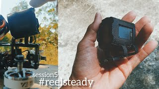 RAW FPV / #GOPRO SESSION 5 #REELSTEADY GO MOUNT TEST! NO JELLO, JUST WORKS!