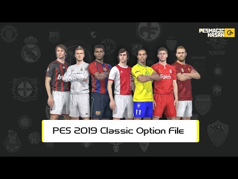 PES 2019 (PS4) Europe Classics Vs America Classics - Legends Option