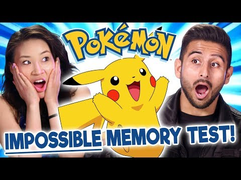 Pokémon Fans Take The Impossible Pokémon Memory Test   Too Much Information