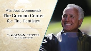 Watch the video to watch Paul's testimonial about Dr. Gorman