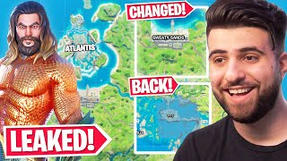 Our FIRST LOOK At Atlantis! (NEW MAP CHANGES & LEAKS!) - Fortnite Season 3