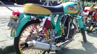 Honda Cb 100 Airbrush Modif 123vid