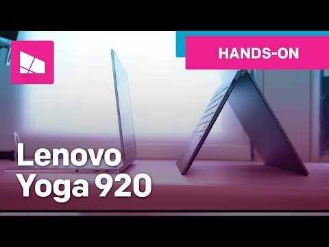 Lenovo Yoga 920 hands-on from IFA 2017