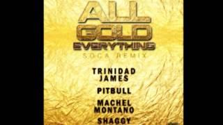 Trinidad James, Pitbull, Machel Montano & Shaggy - All Gold Everything (Soca Remix)