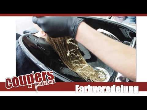 Der Abgang des Haares nach keratinowogo die Aufrichten das Öl