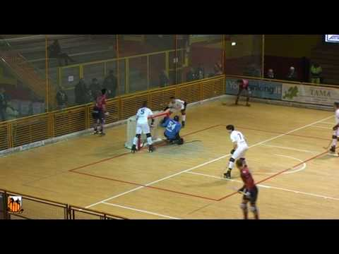 Resumo 1.ª mão 1/4 final Liga Europeia: Lodi 3-5 UD Oliveirense