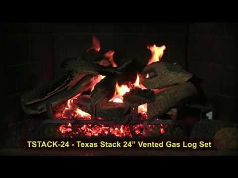 Golden Blount Texas Stack Gas Logs