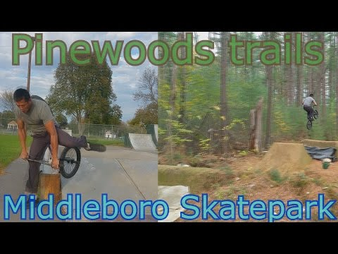 Random Adventures Episode 30: Pinewoods Trails Middleboro Skatepark