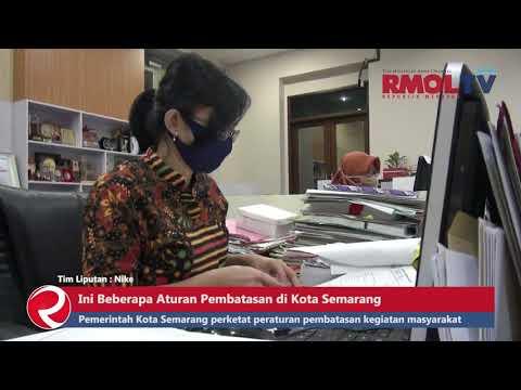 Ini Beberapa Pembatasan di Kota Semarang