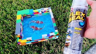 LEGO *FLEX SEAL* FISH Aquarium Pond! DIY