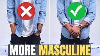 10 Tricks To Look MORE MASCULINE