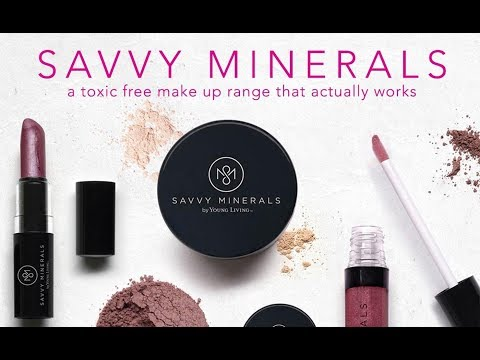 SAVVY MINERALS by Young Living Unboxing and Swatches / Lippy Eve