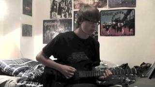 Taking The Music Back - Anthrax Guitar Cover