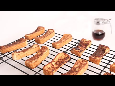 French Toast Sticks Recipe – Laura Vitale – Laura in the Kitchen Episode 966