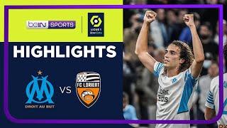 Marseille 4-1 Lorient Pekan 10