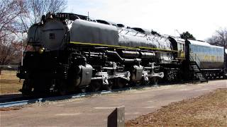 Union Pacific Challenger Steam Locomotive 3977