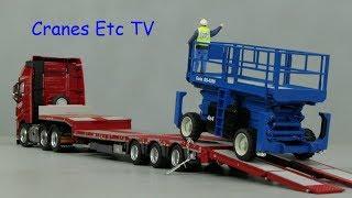 NZG Genie GS-4390 RT Scissor Lift by Cranes Etc TV
