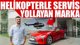 Helikopterle Servis Yollayan Marka   Lexus